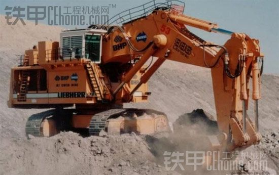 世界现役十大液压挖掘机(500吨以上)震撼盘点图片