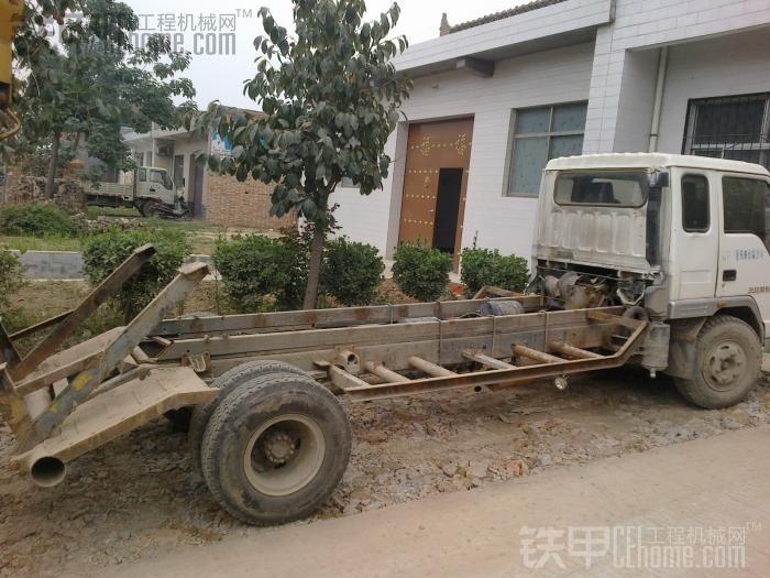 自制小挖超低拖车