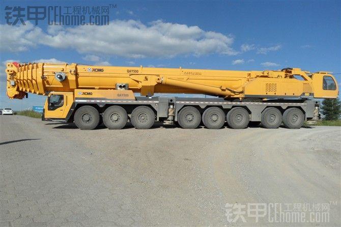 北京首台徐工500吨吊车