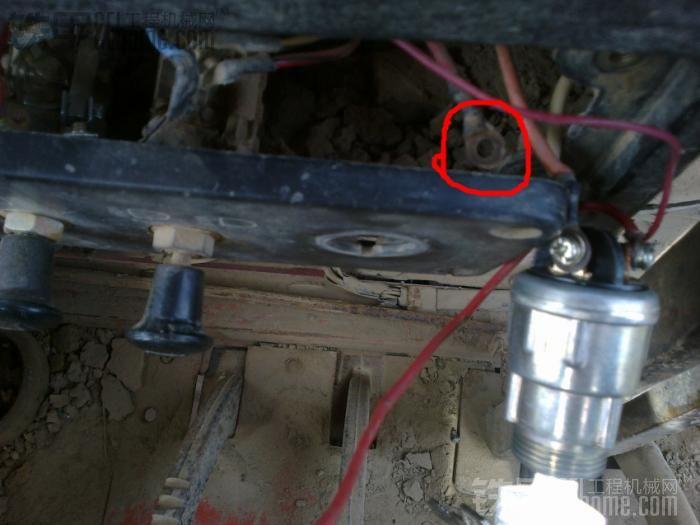 铲车马达继电器接线图
