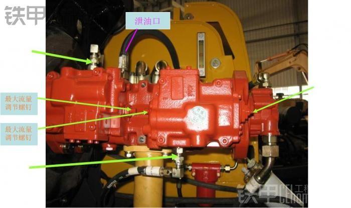下面几张是液压泵的外部结构