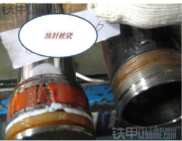 装载机之液压油缸结构及密封件损伤浅析