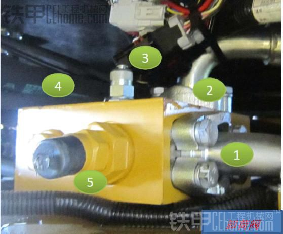 装载机之双泵合流卸荷液压系统组成及原理分析图片
