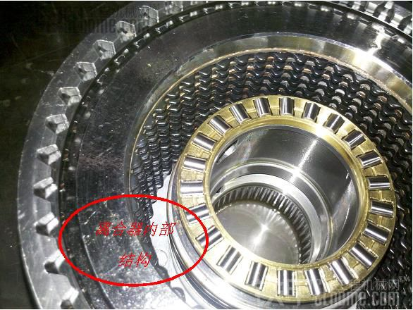 装载机之定轴式变速箱拆解与结构浅析图片
