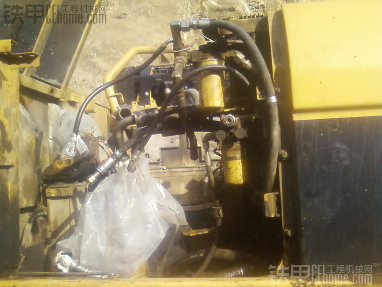 卡特336d挖掘机大泵发动机大修