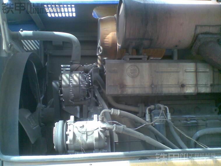 铲车空调加氟方法图解