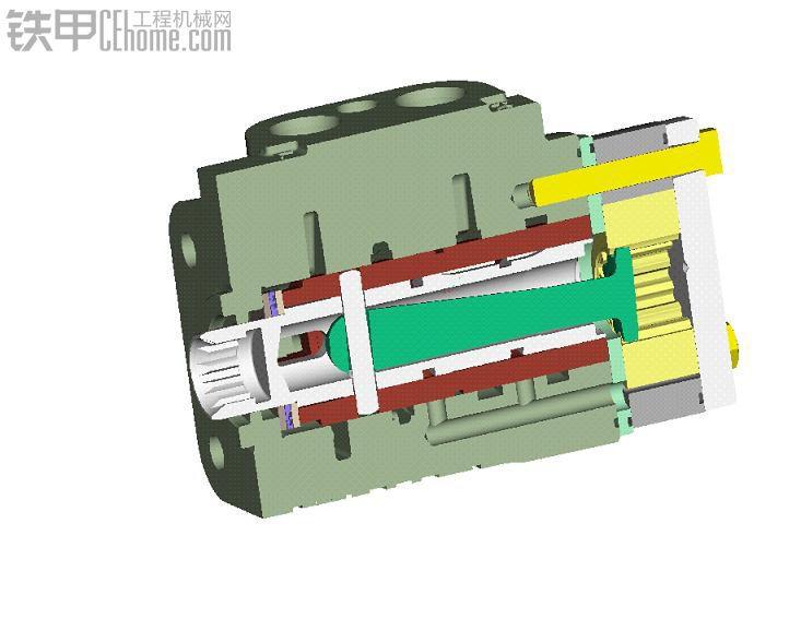 下面重点介绍一下全液压流量放大系统另一核心元件——流量放大阀.图片