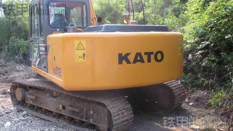 加藤512 我爱我挖 挖掘机 -加藤512