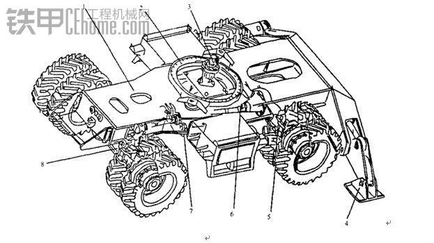 挖掘机的基本构造及工作原理图片全部已加上