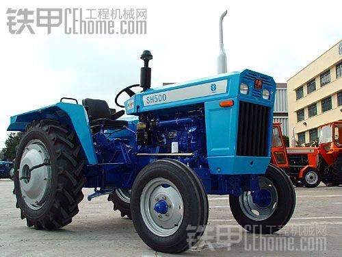 家有一台老的上海纽荷兰的50拖拉机