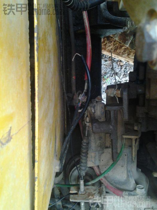 简单电路维修之今天不用打轮胎气了,昨天已打图片