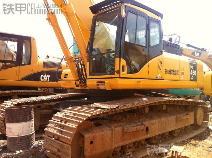 海车主出售二手小松PC450 7挖掘机 日本原装进口机 二手大型挖掘机
