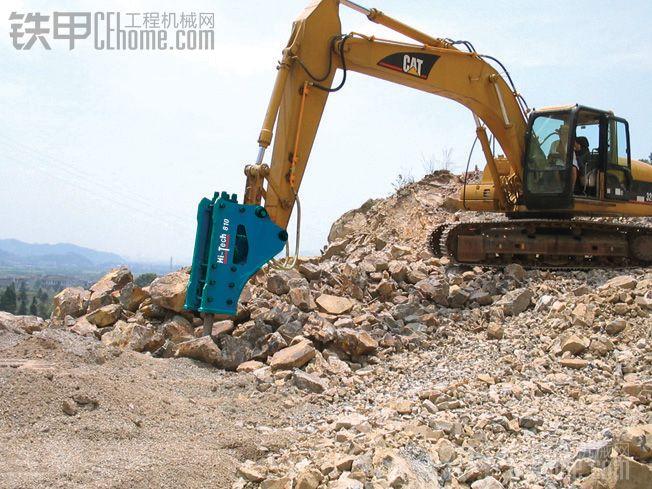 挖掘机破碎锤的正确操作方法和破碎锤的保养
