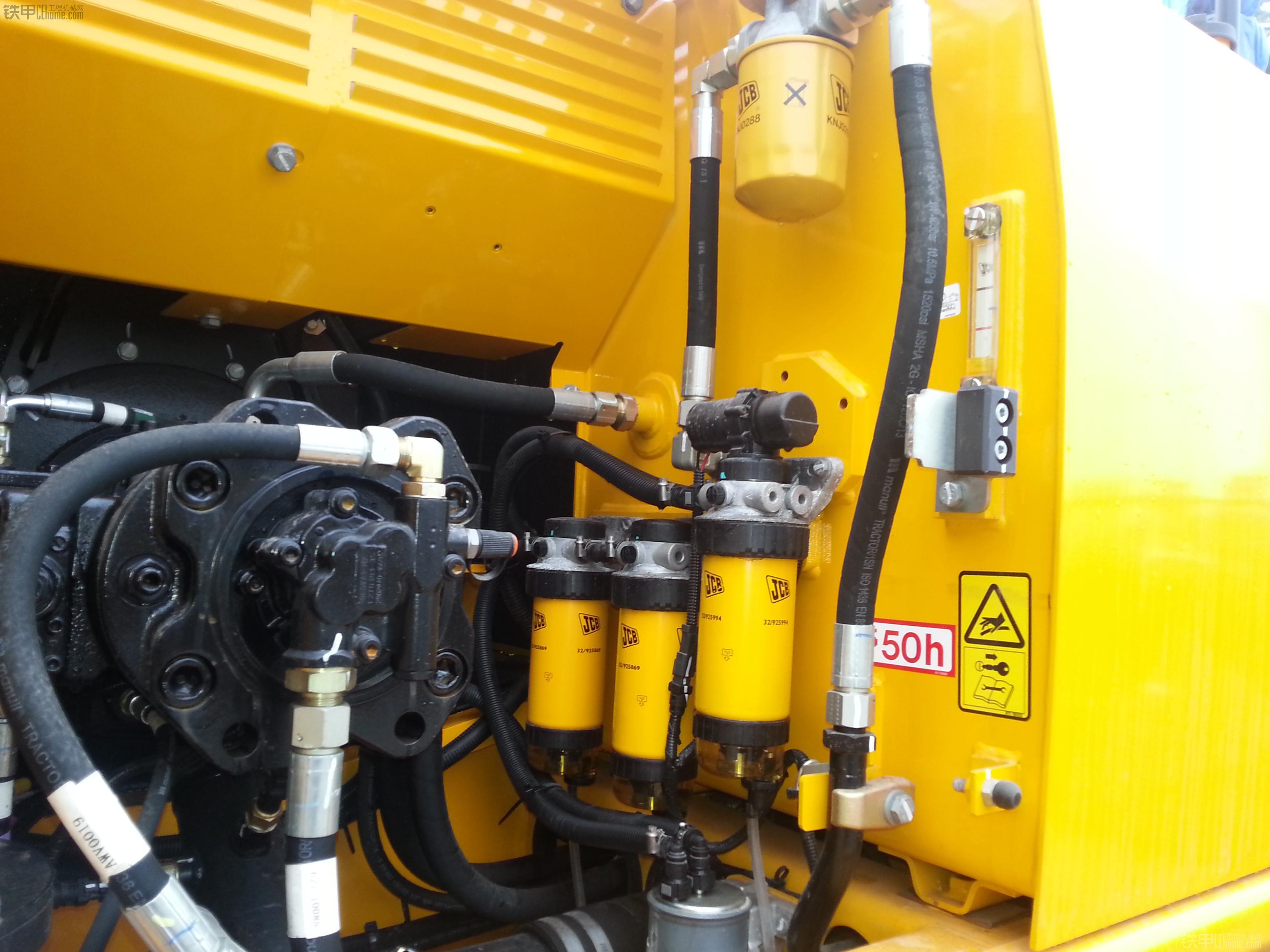 挖掘机液压系统_4,jcb研发的ams系统,实现了发动机与液压系统智能完美匹配,确保高
