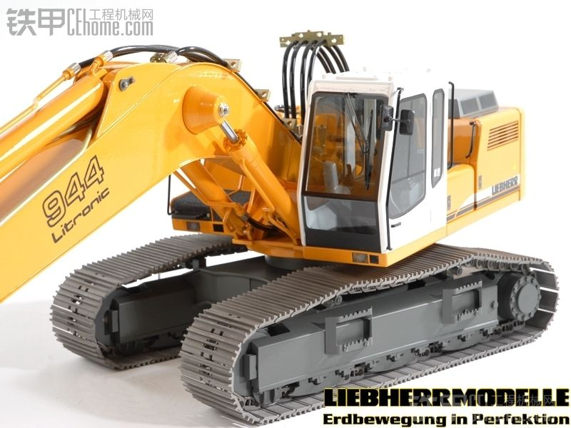 德国进口模型 全液压遥控卡特,利勃海尔挖掘机