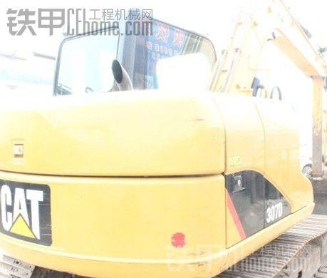 高手看看这卡特307D挖掘机值多少米啊图片