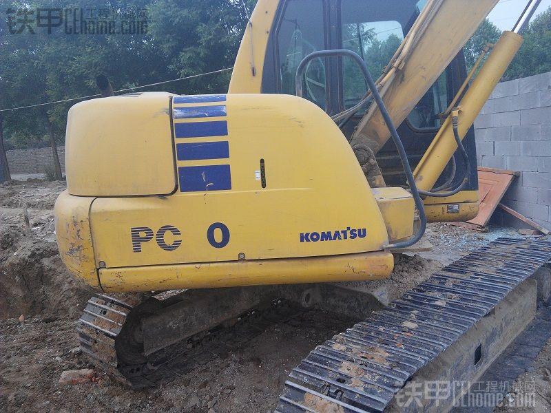 小松60-7挖掘机8888小时使用报告