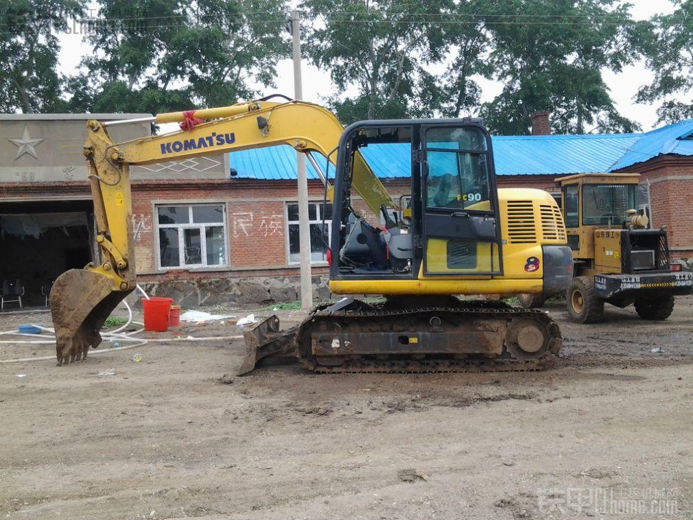 小松pc60-8b挖掘机 600小时使用报告