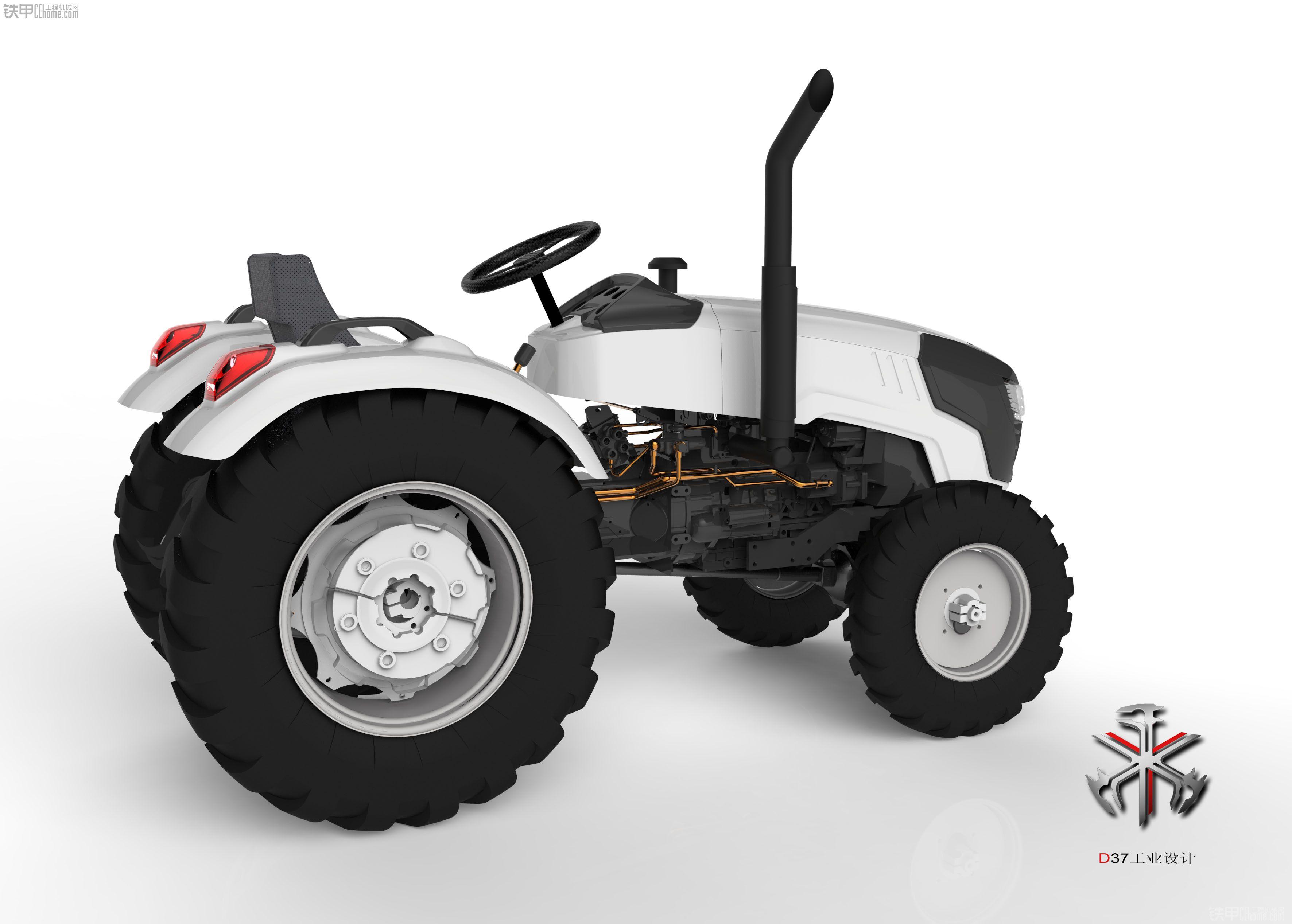 潍坊工业设计 福田拖拉机设计