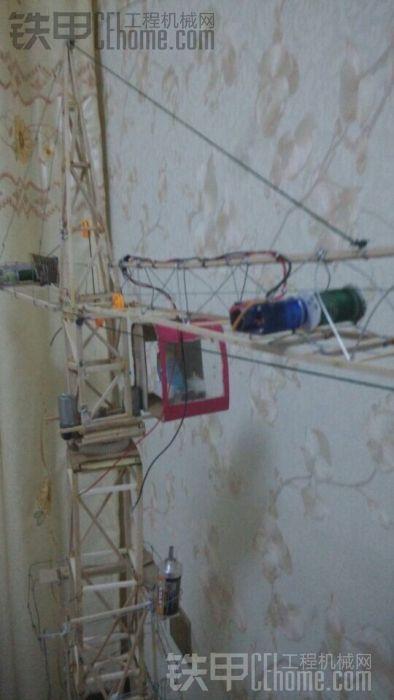 中联7015塔吊回转电机接线图