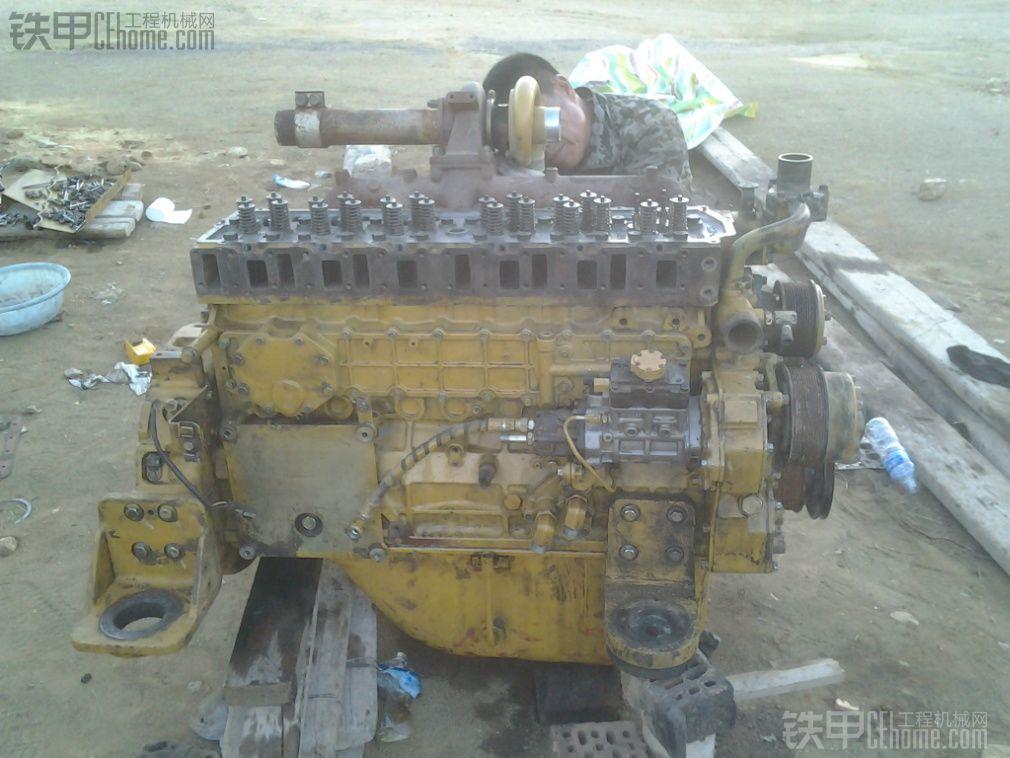 卡特320d 挖掘机 大修发动机全过程