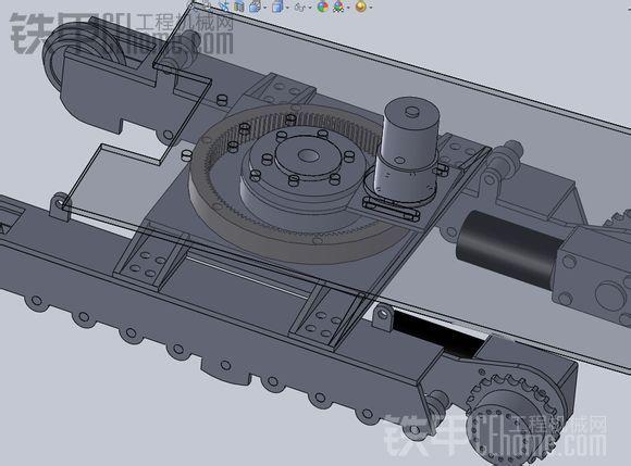 自制液压遥控挖掘机模型