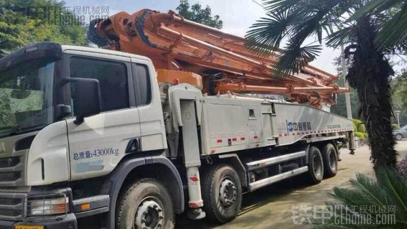 2014年中联重科56米泵车 斯堪尼亚底盘 现转手280万 有意者电联 陈