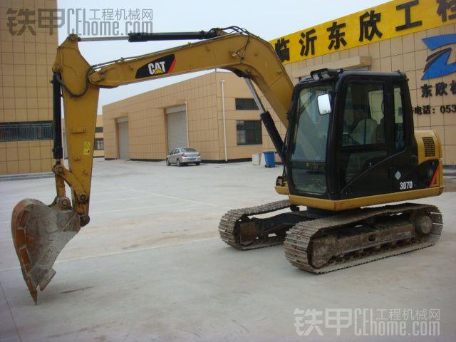 东临沂转让公司卡特307D挖掘机,工作2570小时图片